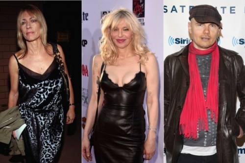 Kim Gordan、Courtney Love、Billy Corgan