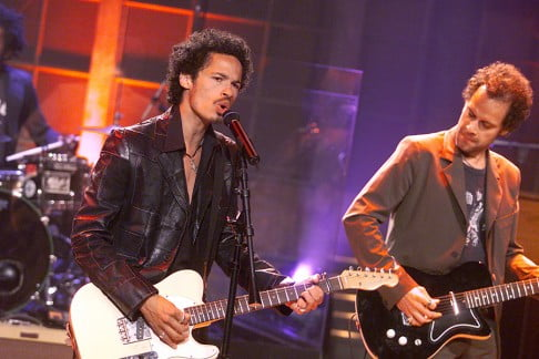 """Eagle-Eye Cherry on """"The Tonight Show with Jay Leno"""" at the NBC Studios in Los Angeles, Ca. October 3, 2001. Photo by Kevin Winter/Getty Images."""