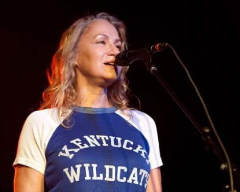 NASHVILLE, TN - SEPTEMBER 18:  Joan Osborne of Trigger Hippy performs at The Cannery Ballroom on September 18, 2014 in Nashville, Tennessee.  (Photo by Erika Goldring/Getty Images for Americana Music)