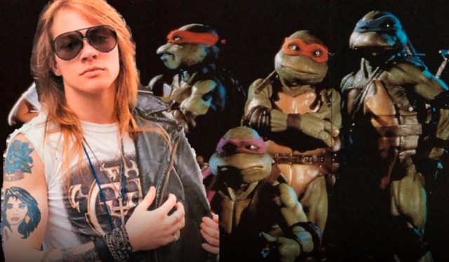 Axl Rose loves TMNT