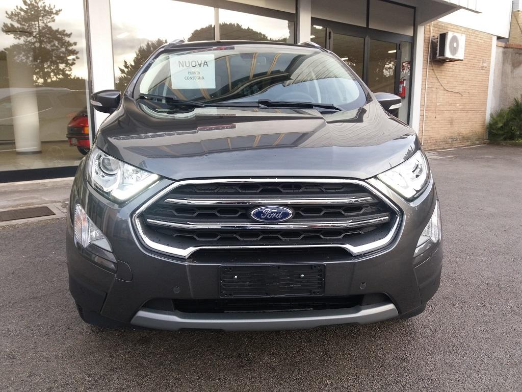 Ford EcoSport 1.5 TDCi EcoBlue 100 cv S&S Titanium (8)