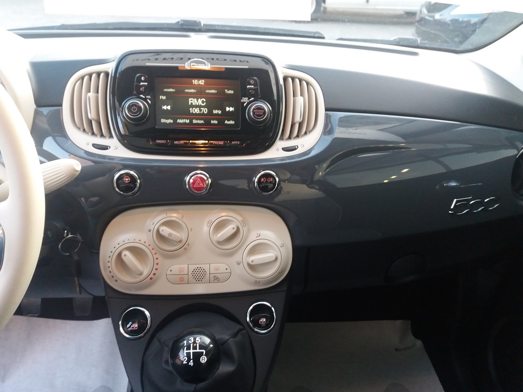 Fiat 500 1.2 69 cv Lounge (10)