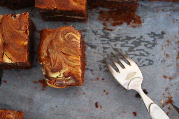 brownie au cream cheese