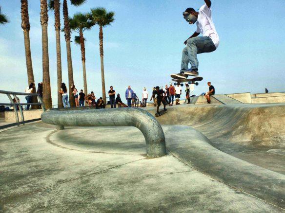 Skate at Venice beach