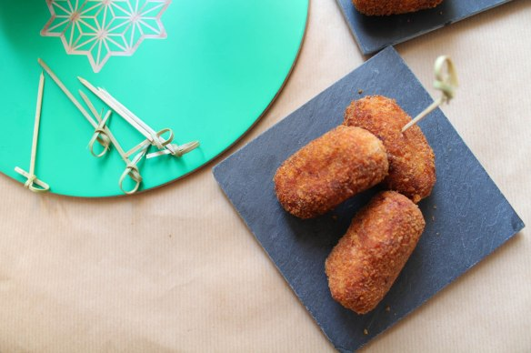 croquettes espagnoles poulet