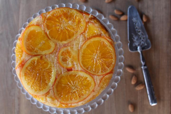 gateau amandes oranges