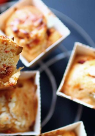 muffins tomates sechees fromage