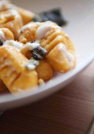 gnocchis patate douce recette