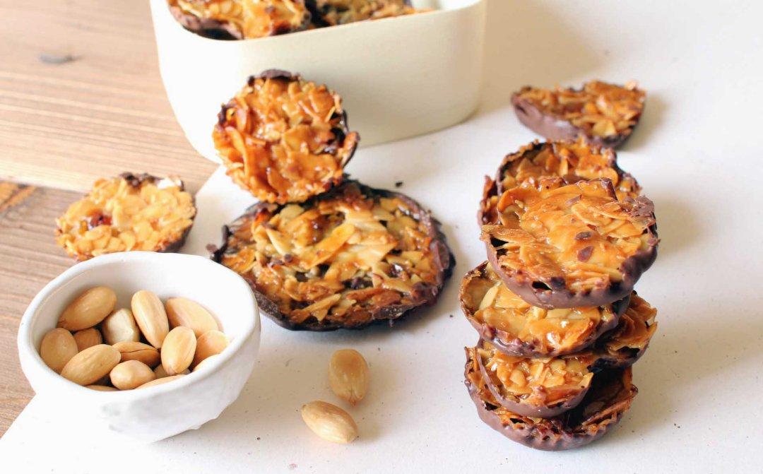 florentins maison florentines amandes biscuits
