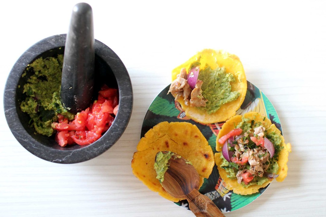 tacos boeuf guacamole
