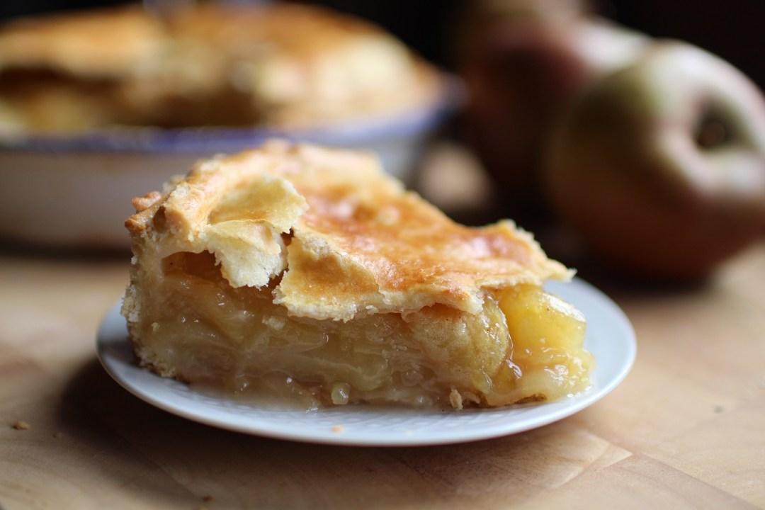 apple pie recette tourte pommes