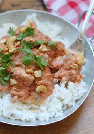 curry poulet noix cajou