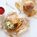 Burger mexicain {Boeuf – Guacamole}
