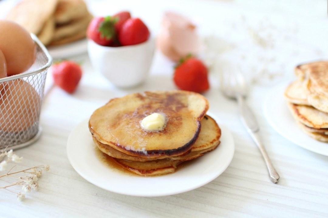 recette de pancakes moelleux