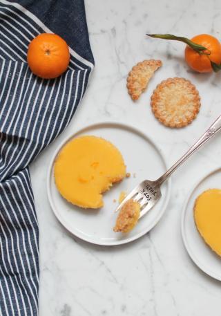 recette facile tartelettes mandarine biscuits
