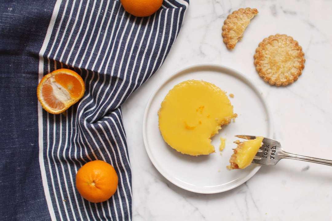 tartelettes mandarine recette facile biscuits poulard