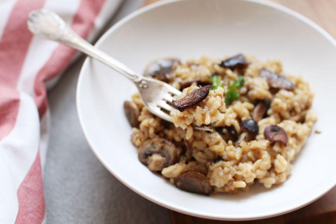 risotto cremeux recette