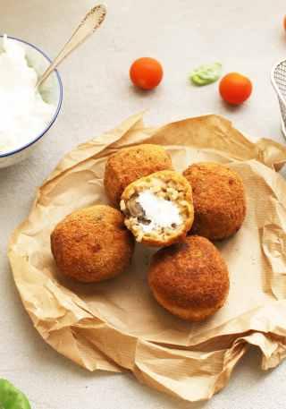 recette arancini croquettes riz siciliennes