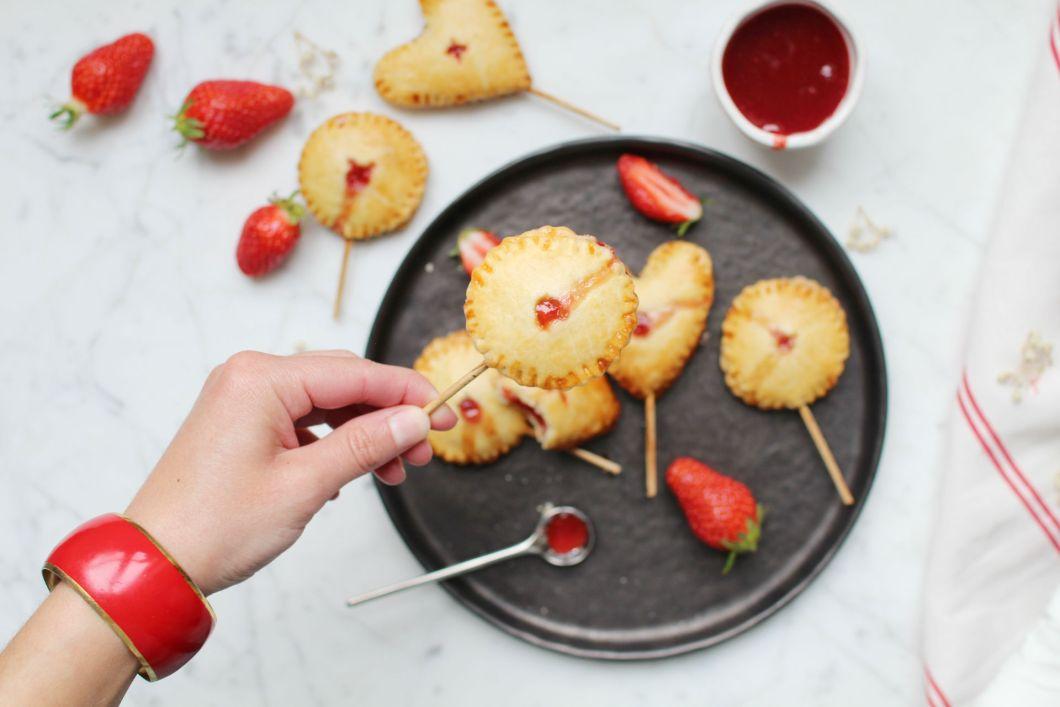 recette pie pops tartes fraise sucette royal chill