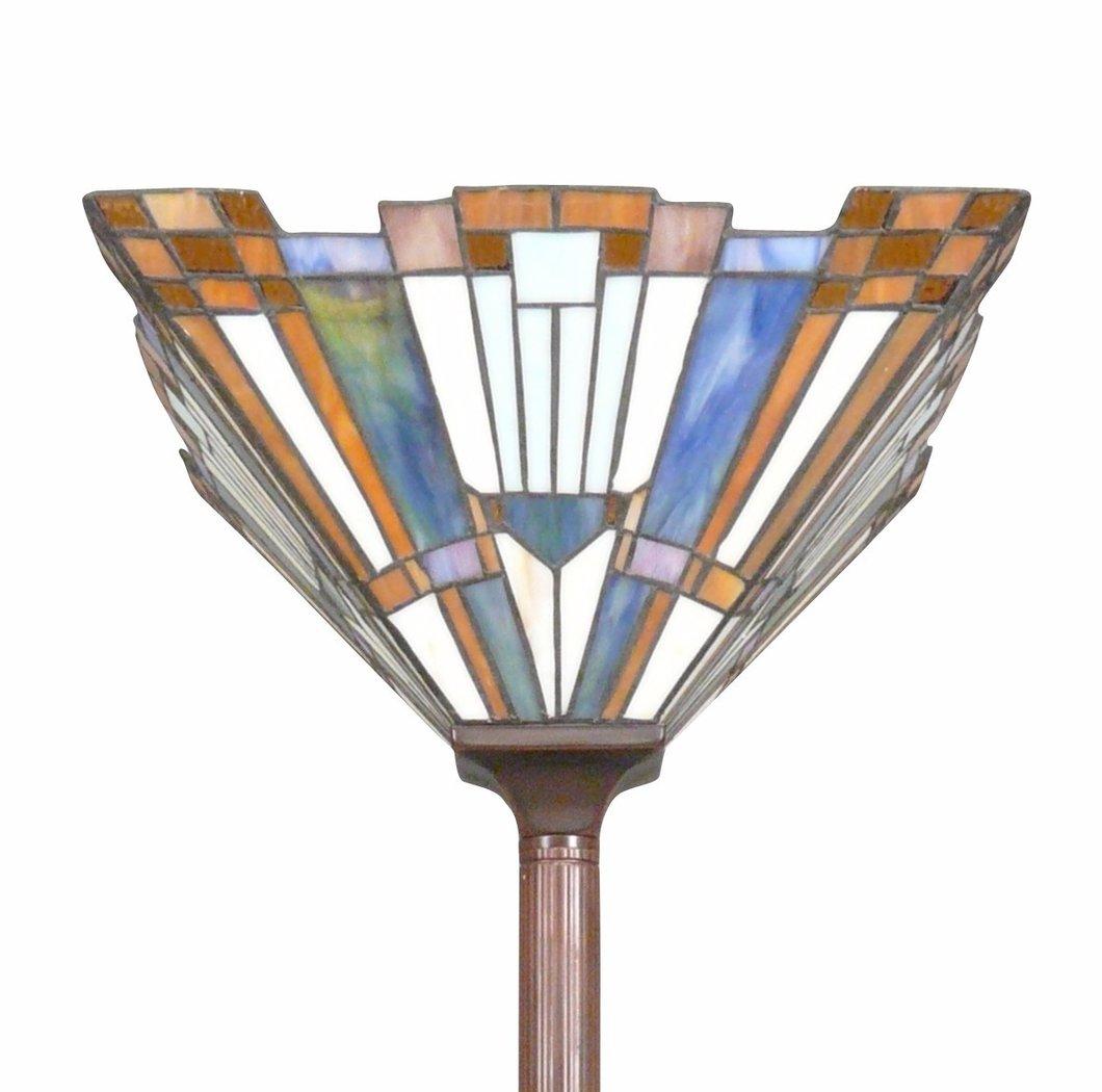 lampadaire style tiffany art deco