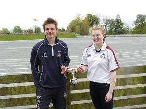 Bullingbrook-Tyrone house captains: Joannna Little and Philip Wilson