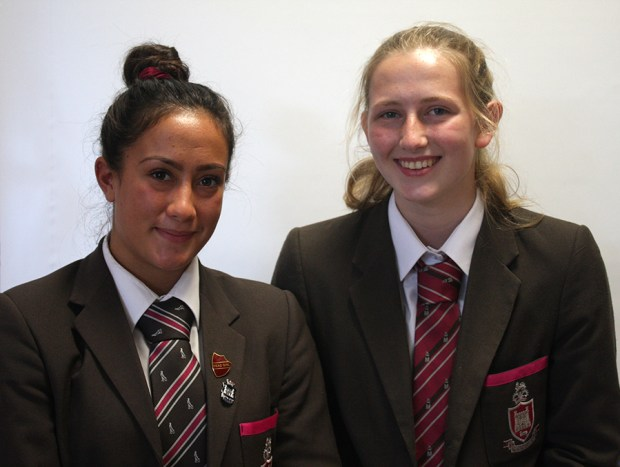 Ulster U18 Girls Squad: Grace Shrestha & Lucy Turkington