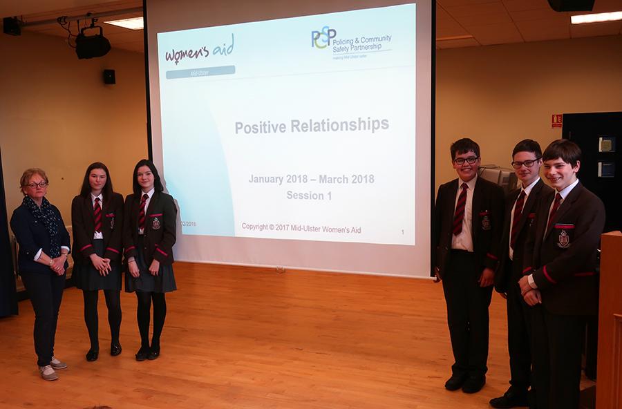Year 10 workshop on 'Positive Relationships'