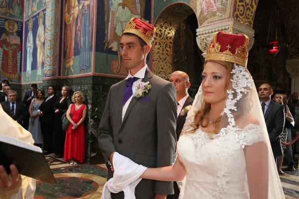 WEDDING OF PRINCE DJORDJE AND PRINCESS FALLON ...