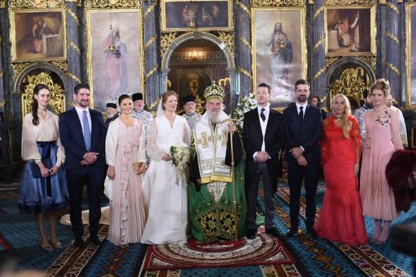 WEDDING OF PRINCE PHILIP AND DANICA MARINKOVIC   The Royal ...