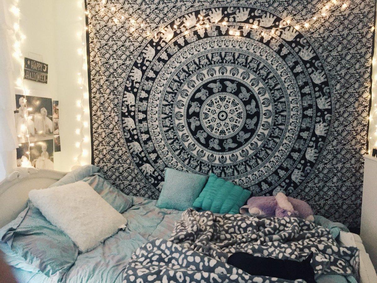 hippie tapestries - mandala bohemian tapestries & bedspreads