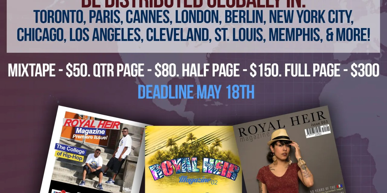 Reach Over 5,000 International Fans & Buyers (with Royal Heir Magazine)!