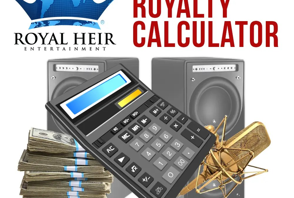 Calculate Your Streaming Royalties!