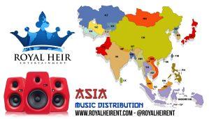 Asian Music Distribution - royal heir entertainment - royal heir net - asian music distribution