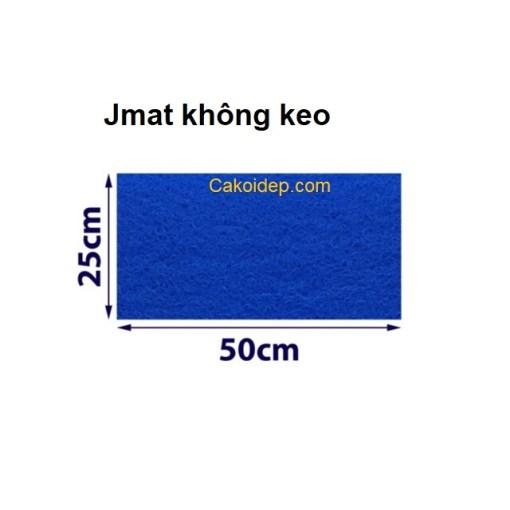 Jmat không keo vật liệu lọc hồ cá koi 50x25cm