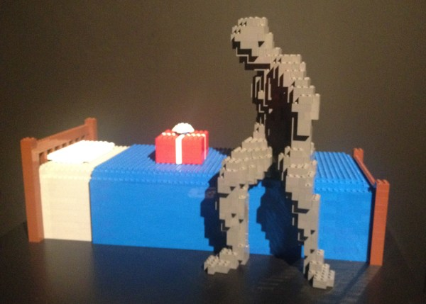 Lego Art of the Brick-Surprise in Bed