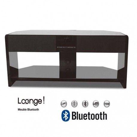 oxygen loonge meuble tv bluetooth enceintes integrees 2 1