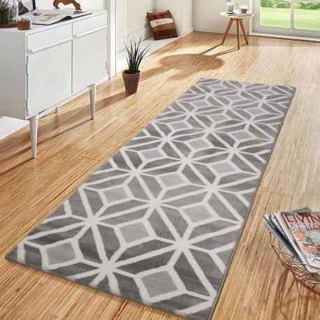 oreva tapis de couloir style scandinave 100 polypropylene heatset 80 x 300 cm