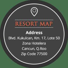 resort map The Royal Caribbean