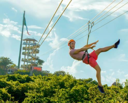 Tour Xplor Adventure Park Mexico - Zipe lines