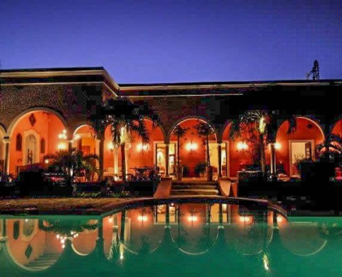 Yucatan hotel Hacienda Sacnicte Izamal