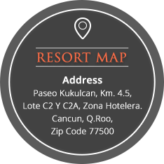 The Royal Cancun resort map and address