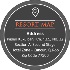 The Royal Sands resort map and aadress