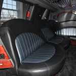 Tuxedo Stretch Lincoln Navigator Interior