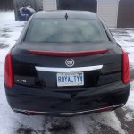 2013 Cadillac XTS - rear view