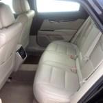 2013 Cadillac XTS - interior rear seat