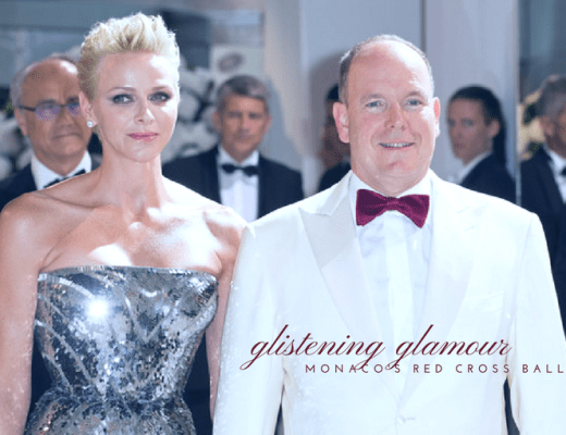 Princess Charlene at Monaco Ball
