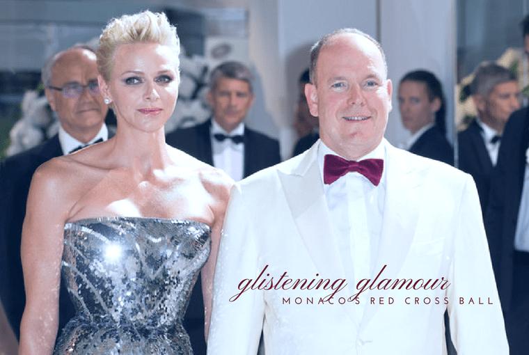 Princess Charlene at Monaco Ball