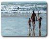 photo de plage en famille