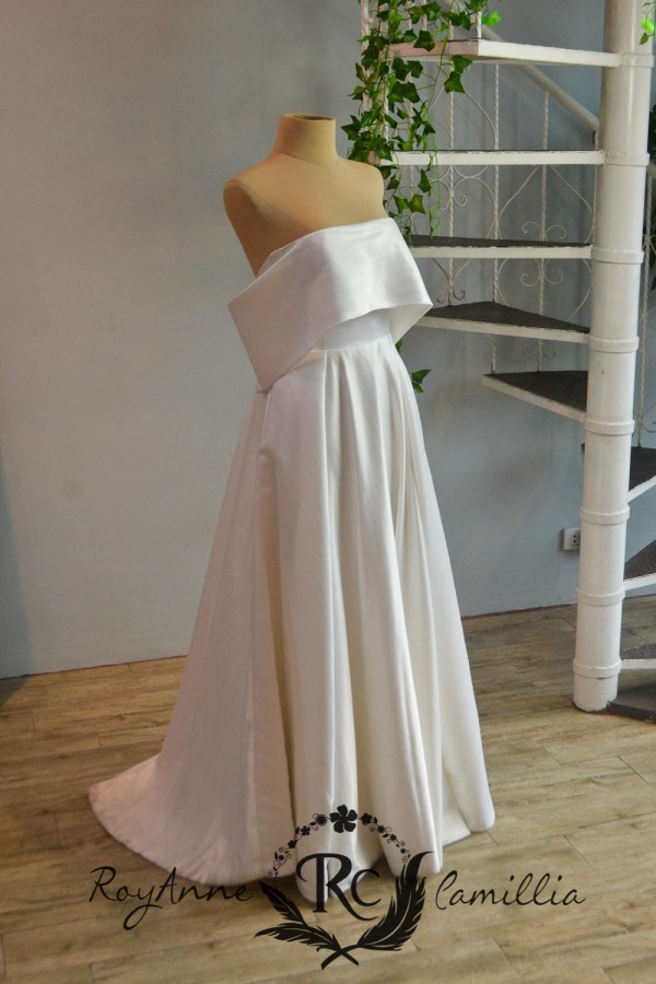 QC Quezon City Manila RoyAnne Camillia Bridal And Debut Gown