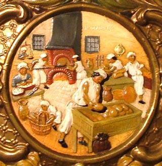 Horloge Murale Boulanger